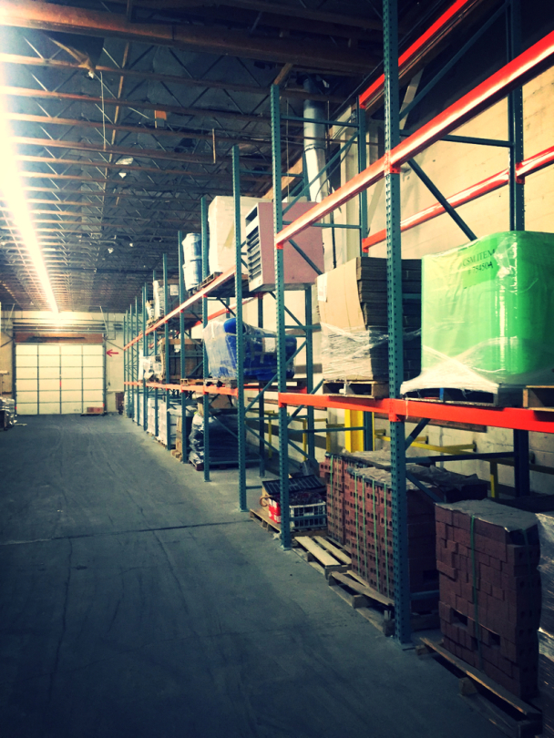 Commercial Warehouse Storage Services
